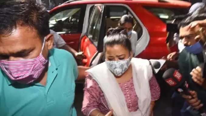 Comedian Bharti arrested, got drugs from home, hangs on husband Harsh too