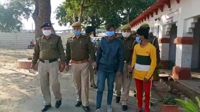 GRP arrested two vicious criminals who committed robbery inside trains