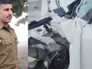 Inspector died in road accident on Yamuna Expressway, posted in Fatehabad