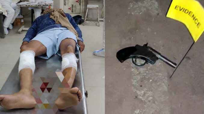 Arrested for killing a soldier by climbing a tractor while stopping mining, Inspector also injured in encounter