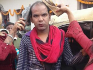 Two groups of eunuchs clash with each other, fiercely abusing the fight, video viral