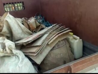 Fake of fake liquor kept hidden in closed toilet pit, senses flew away after seeing police