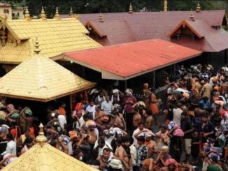 High court had increased the number of devotees in the Sabariwala temple, the Chief Secretary knocked on the door of the Supreme Court