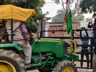 Agra police stopped farmers traveling in Delhi with tractor-trolley, clash