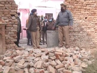 Anti-social elements broke the wall-gate of SN Medical College, police started investigation