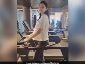 Anushka does not miss workouts even during her pregnancy