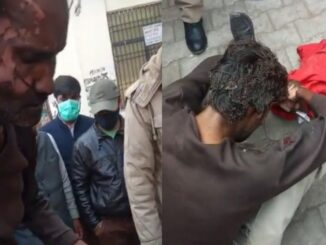 A youth tried to commit self-immolation at Agra headquarters