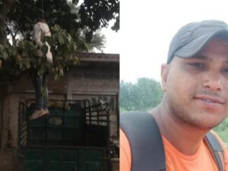 Dead body of a youth found hanging on the noose of a tree, family members feared murder