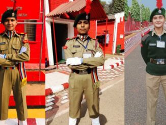 Three cadets of Agra College will perform steps on Rajpath on 26 January