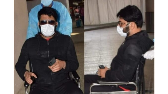 Comedian Kapil Sharma on wheel chair, indecency of taking photos, video goes viral