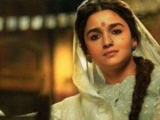 Alia Bhatt, who is seen very well in the role of Gangubai, is praising fans, see viral photos