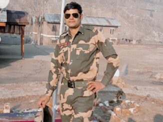 Agra soldier Satish Chahar martyred during war practice in Jaisalmer, village drowned in mourning