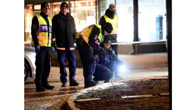 8 injured in knife case in Sweden, the incident is being described as a terrorist attack