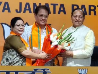 "Prabhu Shri Ram Arun Govil of ""Ramayana"" joined BJP, party workers warmly welcomed"