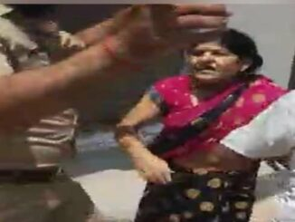 On the closure of the open shop in the lock down, the attack on Khaki, many policemen, including women darga,