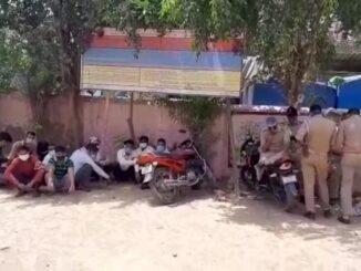Major negligence of police: Infected and ordinary prisoners presented in court by sitting in a vehicle together