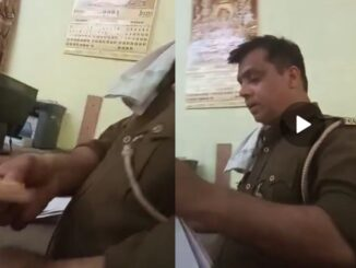 Video of taking bribe showing fear of being sent to jail in court goes viral