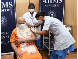 PM Modi takes second dose of Kovid vaccine amidst deadly second wave of Corona, appeals to people