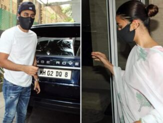 Kapoor family organized Puja in memory of actor Rishi Kapoor, Ranbir arrived with Alia
