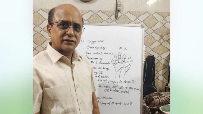 The trend towards alternative medicine increased during the Kovid period, acupressure expert Bharat Bhushan Bhutani is helping in this way