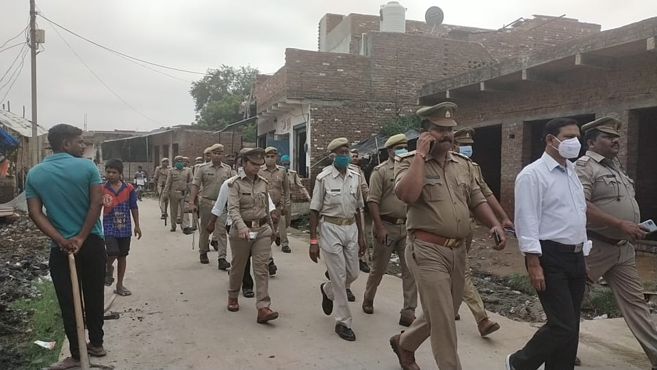 Youth of other community molested the girl, heavy force deployed due to communal tension