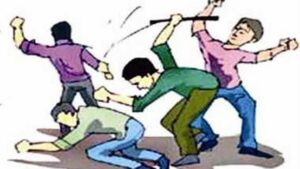 In the health gym, the miscreants attacked the youth with sticks, a case was registered against 9 people