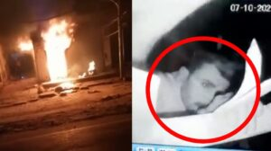 Readymade shop in Jagdishpura was not set on fire, but a shocking incident came to light in CCTV
