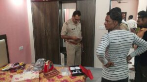The theft took place in the house only after entering the house, the police is suspecting the incident, know why