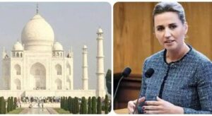 This Sunday, the Prime Minister of Denmark will visit the Taj Mahal and Agra Fort, the entry of tourists will be closed for this time.