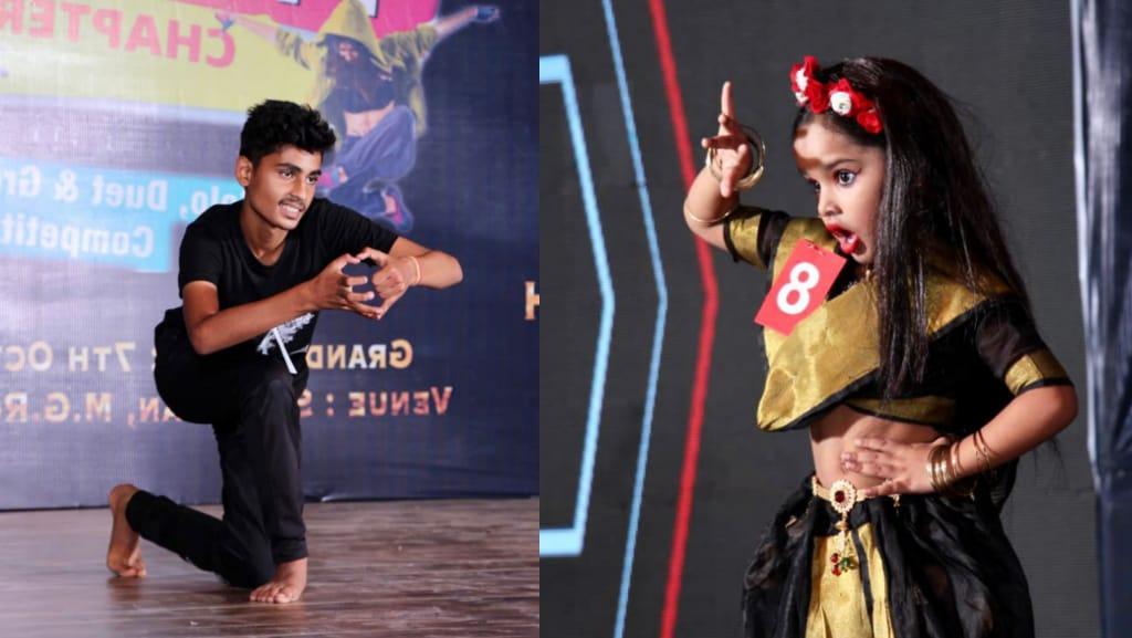 The great competition went on to become the master of dance, the artists showed a great dance performance on the tunes of music